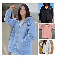 Áo khoác hoodie chống nắng dành cho nam nữ Thuê Trái Tim, Nỉ ngoại form rộng Có Dây Kéo unisex ulzzang thumbnail
