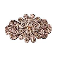 Kẹp tóc hình hoa đính đá xinh xắn dành cho nữ N1 thumbnail