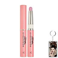Bút sáp kẻ mắt nhiều màu nhũ bạc Mira Eyeshadow Hàn Quốc 1.5g No.2 Màu hồng tặng kèm móc khoá thumbnail