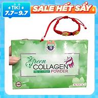 Thực Phẩm Bảo Vệ Sức Khỏe Diệp lục Collagen (Green Collagen Powder) M + Tặng kèm Vòng Phong Thủy thumbnail