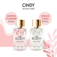 Combo nước hoa Cindy Bloom Aroma Flower 50ml + nước hoa Cindy Bloom Urban Vibes 50ml thumbnail