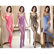 Đồ Ngủ Lưới Xuyên Thấu Khoét Đáy Gợi Cảm Nhiều Màu Sexy Bodystocking Erotic Lingerie Nightwear Brave Man BCS21 17 8036 thumbnail