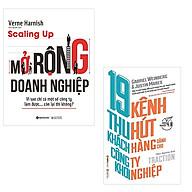 Bộ 2 cuốn sách dành cho công ty khởi nghiệp Scaling Up Mở Rộng Doanh Nghiệp - 19 Kênh Thu Hút Khách Hàng Dành Cho Công Ty Khởi Nghiệp thumbnail