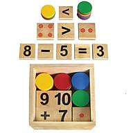 Bộ học toán bằng gỗ thumbnail