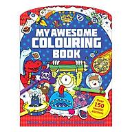 Sách tô màu My Awesome Colouring Book thumbnail