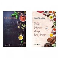 Combo 2 Cuốn Sách Chăm Sóc Sức Khỏe - Sức Khỏe Trong Tay Bạn (Trọn Bộ 2 Tập) - (Tặng Kèm Bookmark Thiết Kế) thumbnail
