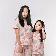 Đồ bộ Pijama Mẹ và bé áo cộc và quần đùi thumbnail