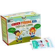 Diệp Lục Lysine Green Strong Kid (hộp 20 gói) - Bổ Sung Chất Xơ Từ Rau Xanh Giúp Bé Ăn Ngon, Hết Táo Bón thumbnail