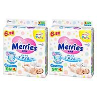 Combo 2 Gói Tã Dán Merries Size S82+6 thumbnail
