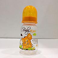 Bình sữa cho bé Baby Kute 125ML dạng eo nhập khẩu từ Thái Lan thumbnail