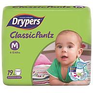 Tã Quần Drypers ClassicPantz M19 (19 Miếng) + Tặng 1 Gói Cùng Loại thumbnail