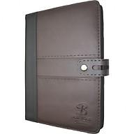 Sổ da khuy bấm 260 trang B5 Klong Bureau - TP345 màu nâu thumbnail
