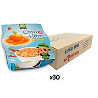 Thùng cơm hầm Sài Gòn Food Tôm & Cà rốt 150g x 30 chén thumbnail
