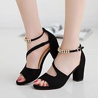 Giày cao gót nữ đẹp rẻ, giày gót vuông thumbnail
