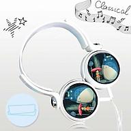 Tai nghe Totoro anime chibi thiết kế thông minh cá tính cắm dây có mic thumbnail