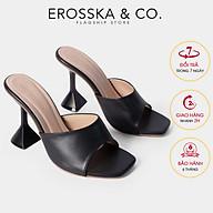 Dép cao gót thời trang Erosska mũi hơ đê nho n hi nh no n kiê u da ng đơn gia n dê phô i đô cao 9cm EM061 thumbnail