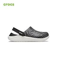 Giày unisex Crocs LiteRide Geopunk Clog -206410 thumbnail