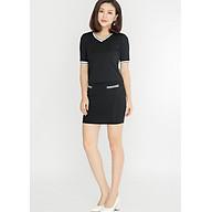 Chân váy công sở nữ dáng ôm LAMER L62F17T035-S1400 (Đen) thumbnail