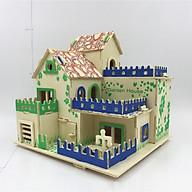 Đồ chơi lắp ráp gỗ 3D Mô hình Garden House thumbnail
