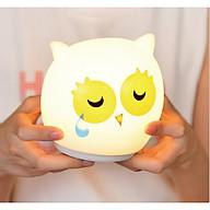 Đèn ngủ hình chim cú mèo (Tặng kèm miếng thép đa năng 11in1) thumbnail