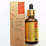 Serum chống lão hóa 24k Gold collagen tặng 5 mặt nạ Jant Blanc thumbnail