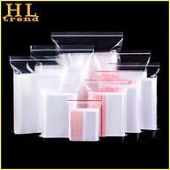 10 Túi Zip Túi Zipper Đựng Đồ thực phẩm đựng đồ dùng Đủ Size E430 thumbnail