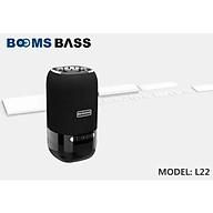 Loa Bluetooth không dây LANTIH Boombass L22, tích hợp đèn led 7 màu có sạc pin 1200mAH Tặng dây cáp sạc 3 đầu Thiết kế nhỏ gọn, dễ dàng mang đi LB00022.CAP0001 thumbnail