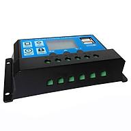 Bộ Điều Khiển Sạc Pin Mặt Trời 12 24V 30A Có USB 150x78x35mm thumbnail