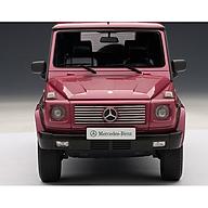 Xe Mô Hình Mercedes-Benz G-Model 90 s Swb 1 18 Autoart - 76113 (Đỏ) thumbnail