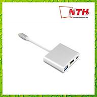 Cáp Chuyển Type-C ra USB 3.0 HDMI Type-C thumbnail