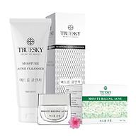 Bộ chăm sóc da mụn Truesky gồm 1 kem ngăn ngừa và giảm mụn 8g + 1 sữa rửa mặt tạo bọt than hoạt tính 60ml thumbnail
