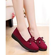 Giày búp bê nữ size chuẩn nhiều màu siêu xinh thắt nơ V222 thumbnail
