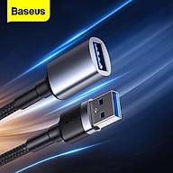 Cáp sạc nối dài cổng USB3.0 Baseus Cafule Cable ( USB3.0 Male TO USB Female 2A 1m ) - Hàng Chính Hãng thumbnail