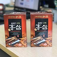 Combo 2 hộp Nước uô ng Hồng sâm 6 năm tuô i Taewoong Food Ha n Quô c thumbnail