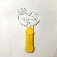 Lightstick Tiêu Chiến tim vàng trần tình lệnh lam vong cơ ngụy vô tiện ma đạo tổ sư đèn phát sáng cute tặng ảnh thiết kế Vcone thumbnail
