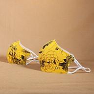 Khẩu Trang Hoa Nắng Vàng Plus Duy Ngọc Cao Cấp - BST CẢM HỨNG MÙA XUÂN (0376) thumbnail