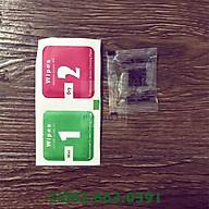 Combo keo chống hở viền & miếng lau dành cho màn hình dành cho điện thoại thumbnail