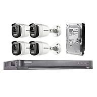 Trọn Bộ 4 Mắt Camera Hikvision Có mầu ngày đêm - Hàng chính hãng thumbnail