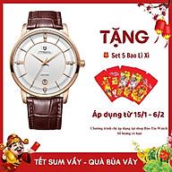 Đồng hồ nam PAGINI PA16688 cao cấp dây da thật mặt tròn Thiết kế sang trọng, lịch lãm thumbnail
