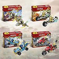 Đồ chơi Lắp Ráp Lego ninjago xe full 8 bộ thumbnail
