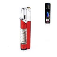 Hộp Qụet Bật Lửa Khò 1 Tia AM7108 Phiên Bản Mới 2020 Thiết Kế Đẹp Độc Lạ Có Chốt Rảnh Tay An Toàn ( Giao màu ngẫu nhiên ) + Tặng bình gas chuyên dụng cho bật lửa thumbnail