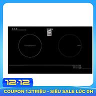 Bếp Đôi Từ Và Hồng Ngoại Whirlpool ACH7327 BLV - Đen - Hàng chính hãng thumbnail