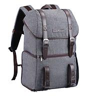 K&F CONCEPT Large Capcity Camera Backpack Photography Storager Bag for SLR DSLR Camera Laptop Grey thumbnail