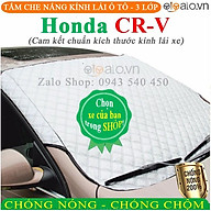 Tấm che chắn nắng kính lái ô tô Honda CRV CAO CẤP 3 Lớp Chắn Nắng Cản Nhiệt OTOALO thumbnail