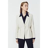 TheBlueTshirt - Instant Chic Linen Blazer Beige - Áo Khoác Linen Màu Kem thumbnail