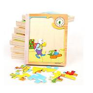 Sách gỗ ghép hình - Đồ chơi phát triển trí tuệ cho bé thumbnail
