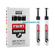 Hộp 6 cây bút sơn Baoke - MP560 màu đen thumbnail