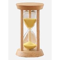 Đồng hồ cát trang trí bằng gỗ xinh xắn 15 phút thumbnail