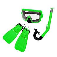 Dụng cụ lặn biển 3 món chân vịt, ống thở, kính lặn trẻ em Sportslink thumbnail