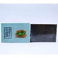 Xà bông Sinh Dược - Cao thảo dược - Xà phòng thảo dược (Bánh 100gr) mẫu bao bì vẽ mộc, Có mùi hương nồng đặc trưng từ thảo dược, giúp thư giãn, giải tỏa căng thẳng sau khi tắm và hiệu quả cho các chứng dị ứng, mấn ngứa. thumbnail